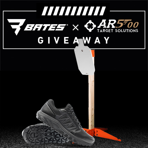 Bates X AR500 Target Solutions giveaway.