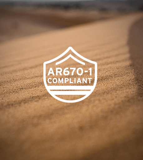 AR670-1 Compliant