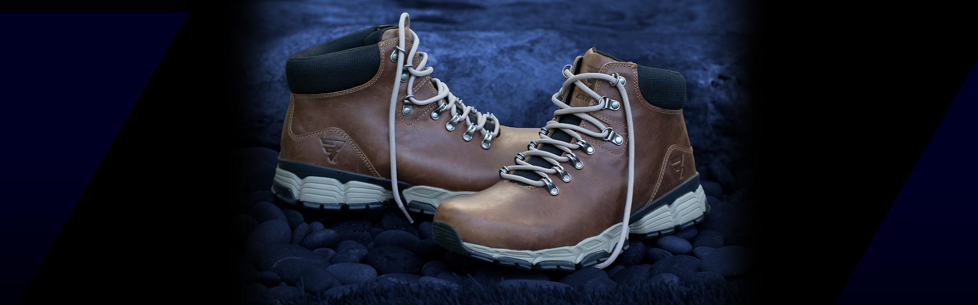 Bates Hiking Boots.