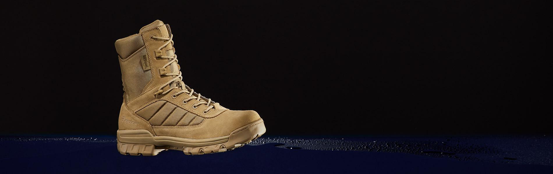 Men 8 Quot Tactical Sport Dryguard Side Zip Boots Bates
