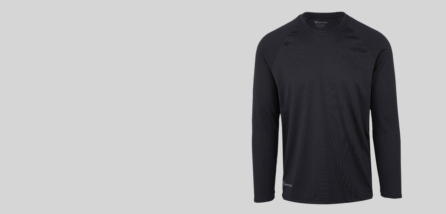 Black baselayer.
