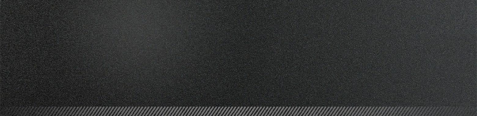 textured black background.