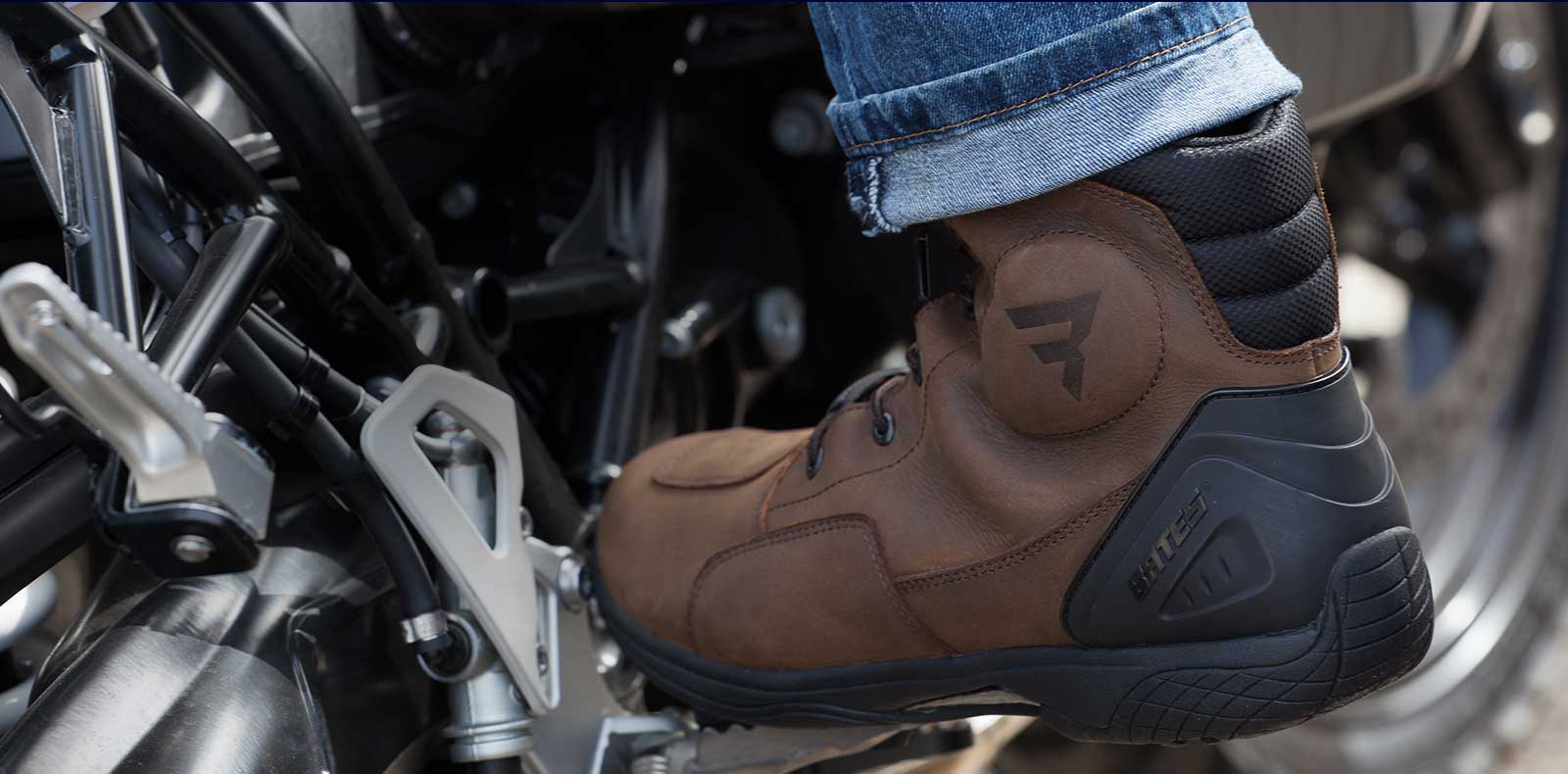 aea4f5a97eb Motorcycle Touring Boots & Power Sports Footwear | Bates