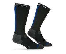Bates Thin Blue Line Socks