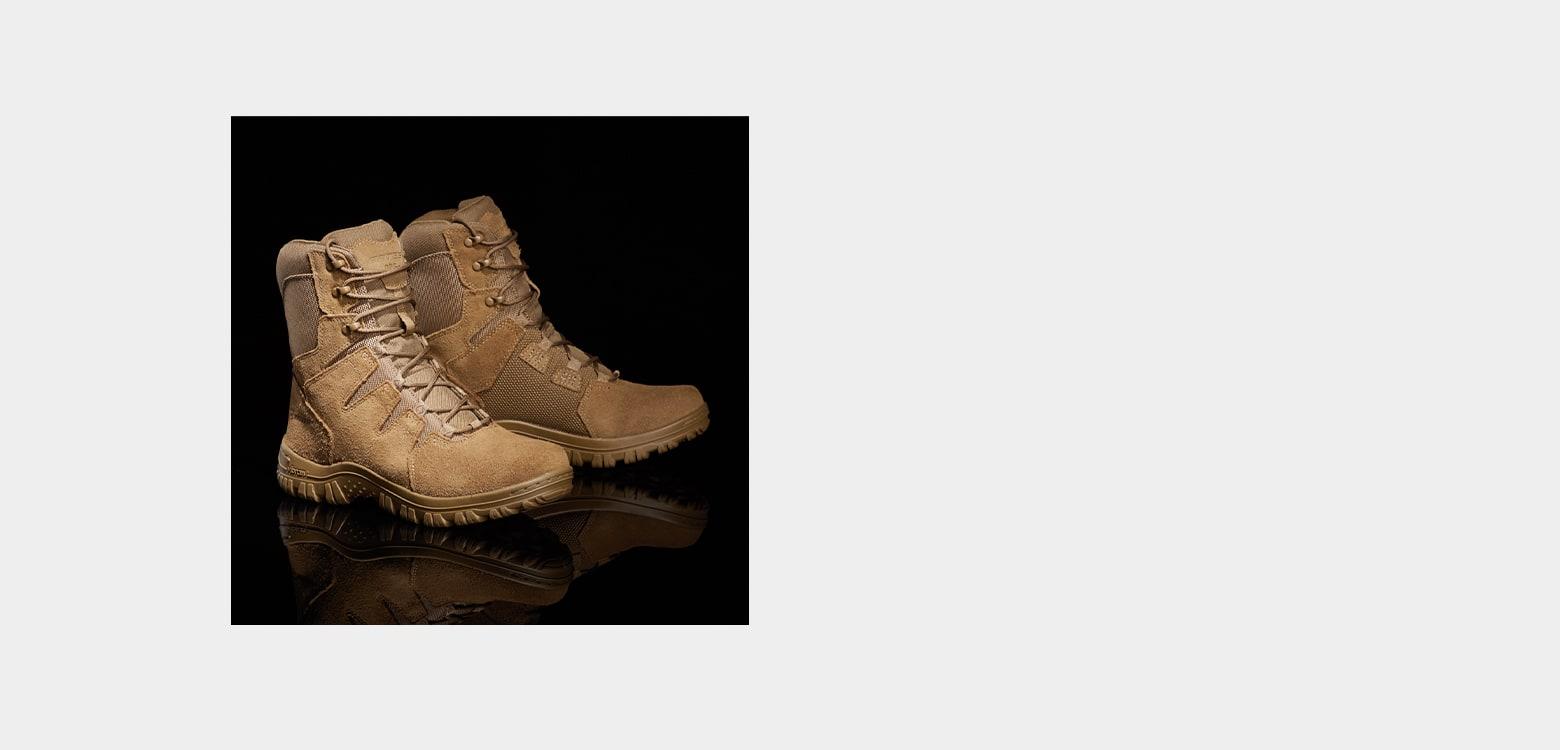 Bates boot.