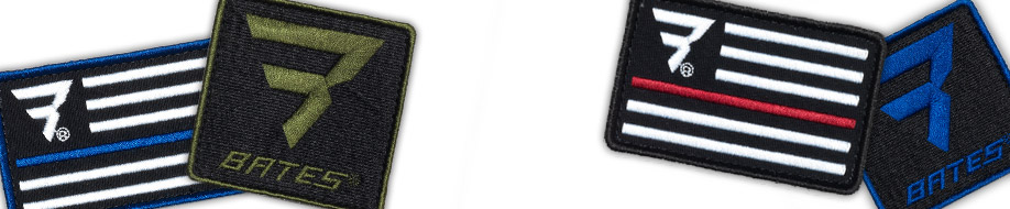 Bates Morale Patches