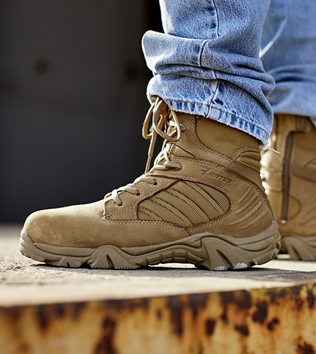 Military Tactical Security Boots Amp Uniform Shoes Bates