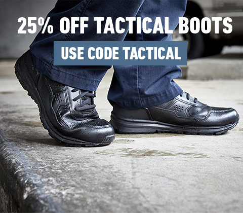 25 % Off Tactical Boots | Use Code: TACTICAL